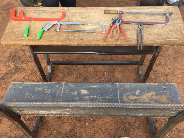 photo des outils
